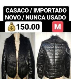 Casaco - jaqueta / importado/ novo / numeração m