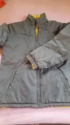 Jaqueta nylon reversível térmica