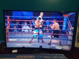 Tv Curva Samsung 49 - 4K Smart HDR - MU6300 - Completa com caixa