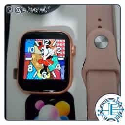 X7 smartwatch rosê personalizável com foto a pronta entrega