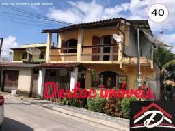 Casa com 03 quartos e grande quintal - Santa Rita - Angra dos Reis