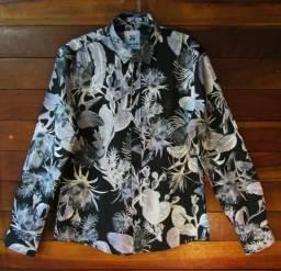 Camisa Social Floral