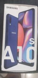 Samsung Galaxy a10s semi novo so cm marcas de iso