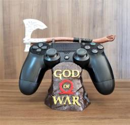 Suporte Gamer P/ Controle Ps4 God Of War Machado Leviathan