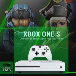 Xbox One S 1tb   Lacrado com 12 meses de garantia