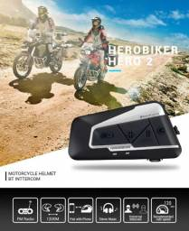 Intercomunicador Capacete Moto Herobiker 2 E6 V6 R6