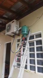 Manutenção em central de ar