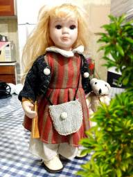 Boneca Porcelana Alemã RF Collection Dolls