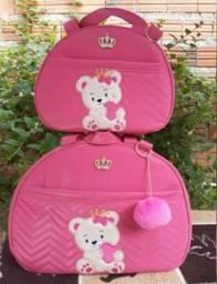 Bolsa saída de maternidade kit com 4 peças