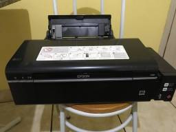Impressora Tanque de tinta Epson L800, 6 cores, impressão em CD e DVD