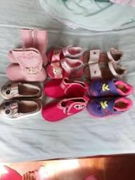 Lotinho de calçados bebê