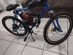 Bicicleta motorizada motor 4 tempos