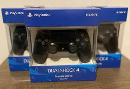 Controle Sem Fio Dualshock 4 Preto - PS4 Original Sony Lacrado
