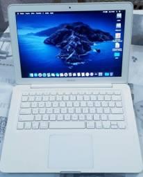 Macbook White. Mem. 4 GB. SSD. Aceito Cartão.