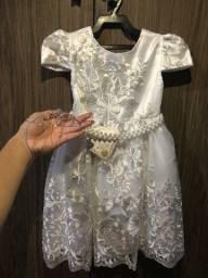 Vestido de daminha ou batizado NUNCA usado