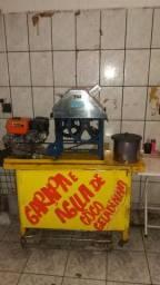 Vende se garapeira e churrasqueira de inox p espetinhos