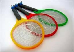 Raquete eletrica mata inseto mosquito