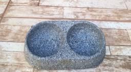 Comedouro duplo granito - Arapongas