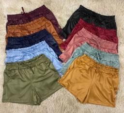 Blusas tamanho único 20,00 shorts 28,00