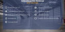 Galpão/Depósito/Armazém para aluguel possui 9956 metros quadrados