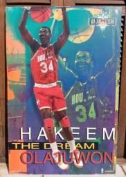 Kit c/ 3 Quadros - Michael Jordan & Hakeem Olajuwon