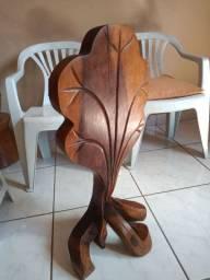 Escultura Madeira jacarandá
