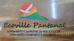 Terreno em condomínio no Ecoville Pantanal - Bairro Centro em Santo Antônio do Leverger
