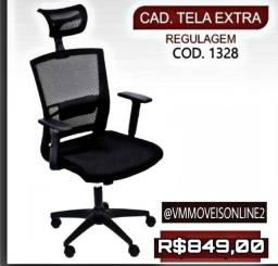 Cadeira Office Tela Extra Entregamos Sem Taxas em Goiânia e Aparecida
