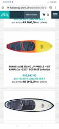 PRANCHA DE STAND UP PADDLE + KIT ? KANALOA ? REGGAE ? 10?