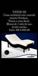 Título do anúncio: Cama Elétrica Articulada Hospitalar Motorizada Ortobom