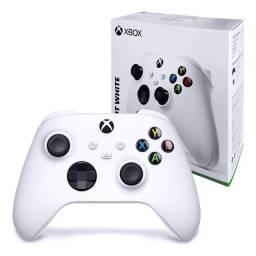 Controle Original da nova geração Xbox Series X S - Robot White