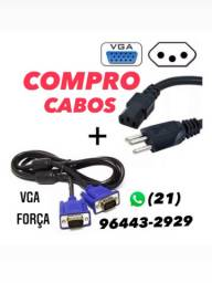 Cabos VGA - FORÇA