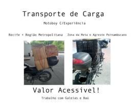 Motoboy/Transporte de Carga/Coleta/Entregas/Fretes