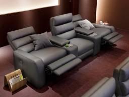 Luxo poltrona para home cinema