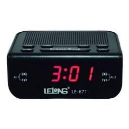 Rádio relógio que deixa a rádio tocando por um tempo pré-determinado
