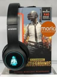 Fone Bluetooth Gamer Pubg