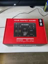 Título do anúncio: Interface de Audio - M AUDIO 192/4