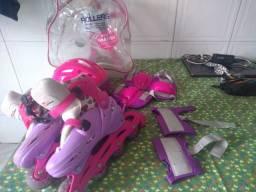 Vendo kit de patins usado