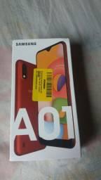 celular snsung A01  novo lacrado
