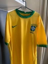 camisa seleção brasileira 2021