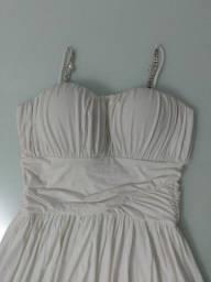 Vestido de noiva curto P