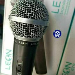 Microfone Leon, vai com cabo incluso
