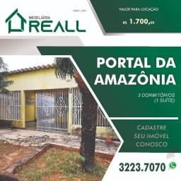 Portal da Amazônia -Casa com 3 quartos- 145 m²- aluguel por R$ 1.600/mês