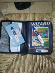 Livro Wizard w2 com caneta de leitura