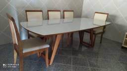 Título do anúncio: Mesa nova de madeira maciça 8 lugares