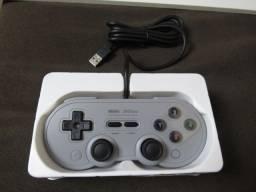 Controle SN30 8BitDo Original Novo Para PC, Nintendo Switch, Raspberry Pi