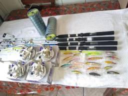 Kit de pesca profissional pesca pesada e de peixes médios