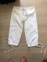 Título do anúncio: Calça branca tipo cargo Zara