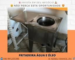Título do anúncio: Fritadeira Elétrica Água e Óleo 36 Litros - Com garantia | Matheus
