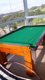 Mesa de Bilhar (Snooker) Residencial - Semi Nova